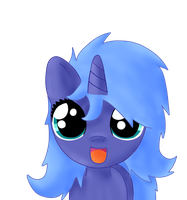 bed mane filly princess luna by Sharkiity