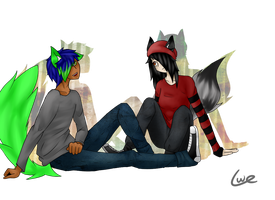 :commi: taking our time by Caelumish