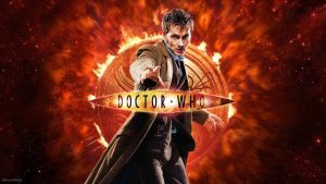 10th Doctor Red Wallpaper by chriscastielredy