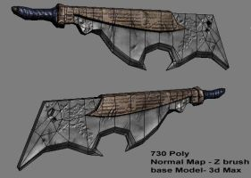 Low poly weapon screen grab by Conglaci