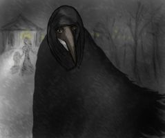 Plague Doctor by DragonflyDF