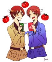 Italy Bros by shiione