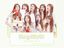 Renderpack #10: MinAh (Girl'sDay) by HanaKim2001
