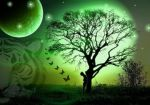 Green Tree by letterlover
