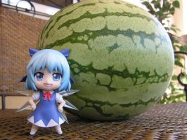 Cirno and the Watermelon by BoggeyDan