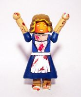 Light-Up Zombie (Dead Alive) Custom Minimate by luke314pi
