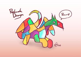 Patchwork Dragon by brandon-chung