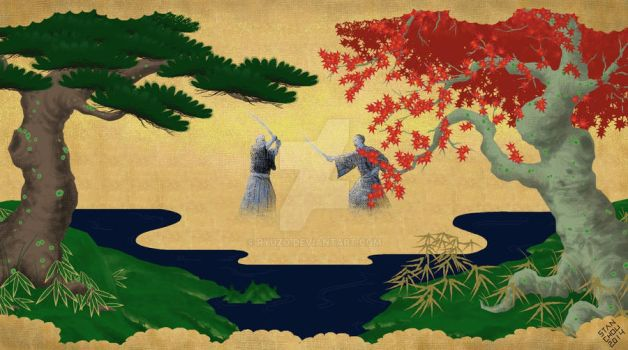 Spring to Fall with Samurai by ryuzo