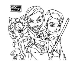 The Clone Wars - Star Wars by JadeDragonne
