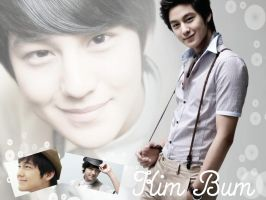 Kim Bum Wallpaper by ForeverK-PoPFan