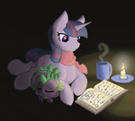 Low-Burning Candle by Geomancing