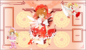 Cardcaptor Sakura Vanguard Mat 2 by UnknownKIRA