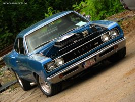 blue coronet IV by AmericanMuscle