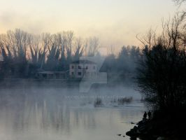 Winter's morning view by Bicciolano