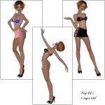 Pinups Vol 1 by LKaal-stock