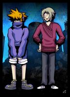 TWEWY - Sweaters by KimYoshiko