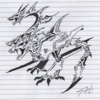 Tribal Dragon 4 by RoyCorleone