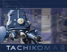 Tachikoma by vocasiod