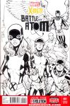X-Men Battle of the Atom sketch cover by ToddNauck