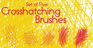 Crosshatching Brushes by ChthonicResources