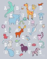 Animal ABC by Hanasu