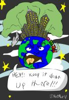 Angry Earth by AniMerrill