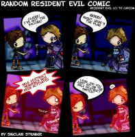 -Random Resident Evil Comic- by SinclairStrange