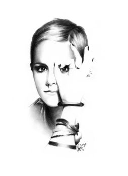 Emma Watson. by lucky-your-with-amy