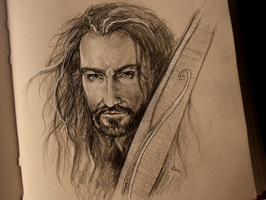 Thorin Oakenshield by Zusacre