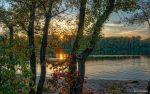 Riverbank at Sunset WP by t-maker