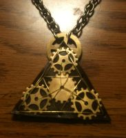 The TriForce Necklace by LeviathanSteamworks