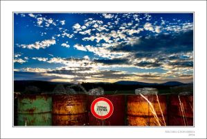 No entry... by Michel-Lag-Chavarria