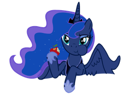 Luna apple by Vexorb
