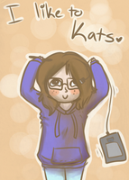 . : i like to kats : . by Freckled-Kat