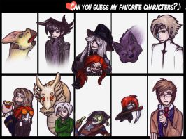 Can You Guess My Faves Meme by StellaDraco