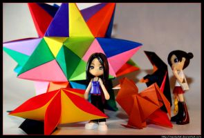 Pinky does Origami by neolestat