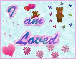 'I am Loved' Poster by Ceibita