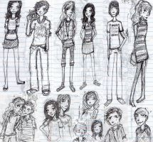 icarly sketches by Ragetti