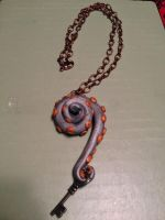 Tentacle Necklace Key by SilverEmeralds