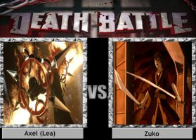 Axel vs Zuko DEATH BATTLE by Iorigaara