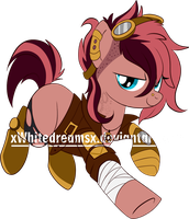 mare steampunk Auction (CLOSED) by xWhiteDreamsx