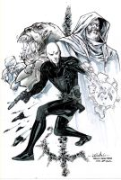 The Cast Of Metabaron - Drink'n'Draw 07/18/2012 by SpiderGuile