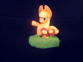 Applejack MLP custom figure by LightningChaser