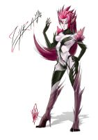 Zyra, Rise of the Thorns by MyTh1C