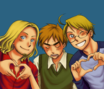 APH: Hearts by zulenha