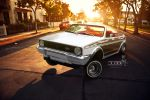 Volkswagen Golf Lowrida' by blackdoggdesign