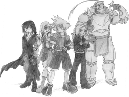 Fullmetal Kingdom, Disc 3 Playable Characters by 4xEyes1987