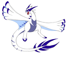 Mega Lugia idea by IcelectricSpyro