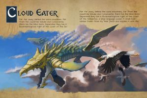 Cloud Eater Page Layout by mattwatier