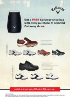 Callaway Shoes Promo Poster by GraphIcatZ